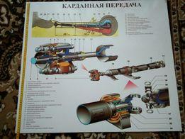 Плакаты пдд строние автомобиля (правила дорожного движения)