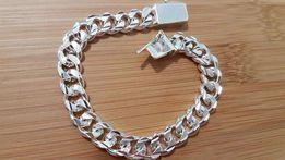 Скидка!!! Мужской браслет на подарок под серебро