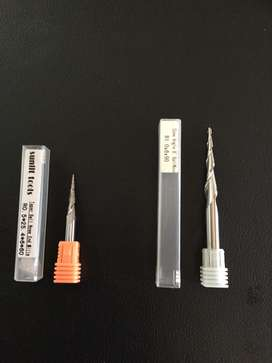 Carbide ball noses and end mills