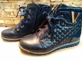 Ботиночки осенние. Р.35, по стельке 21,5 см
