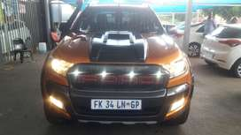 Ford Ranger 3.2 speed auto, wildtrack 4x4