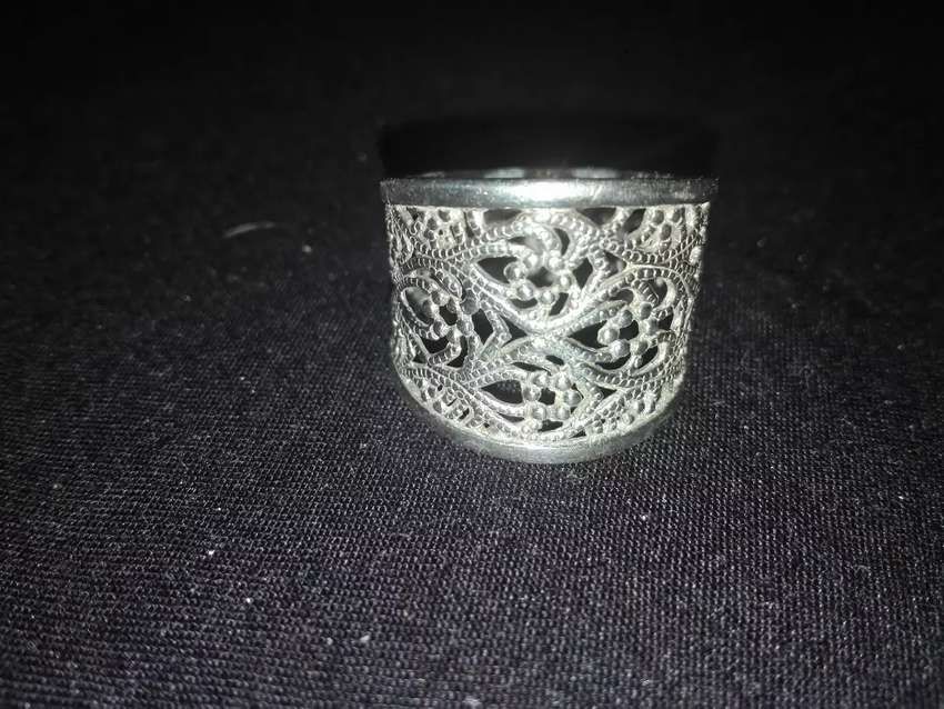 Silver ring 0