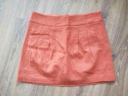 Spódnica h&m 38 pomaranczowa jesień