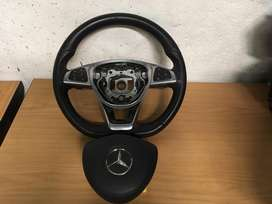Mercedes Benz A176 Steering Wheel And Paddle