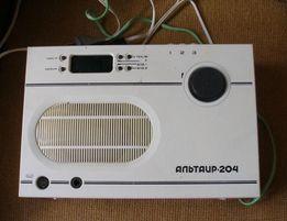 1760 Радио Альтаир ПТ-204 с часами и таймером