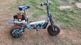 Cobra scooter with husky 52cc engin working condition  cash deal only