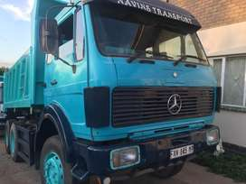 Mercedes 2628 tipper V8
