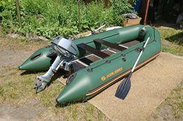 Резиновая ПВХ моторная лодка Колибри с мотором Honda