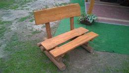 ława 110 cm ławka ogrodowa drewniana drewno dwuosobowa dowóz