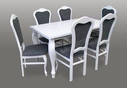 Stylowy Zestaw Natalia stół z krzesłami w SUPER CENIE!