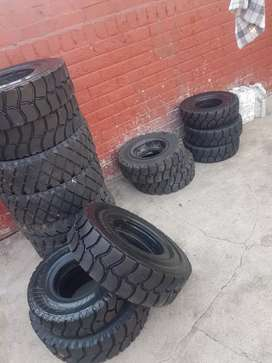 Tyre forklift solid original,all sizes  at AFFORDABLE ,we come to you