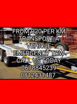 Emergency towing and vehicle transportation