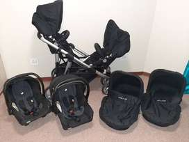 Double Trouble Twin Travel System