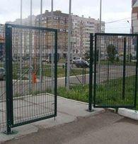 Ворота, калитки из сварной сетки