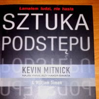 Książka Sztuka Podstępu Kevin Mitnick najsłynniejszy haker świata 380s