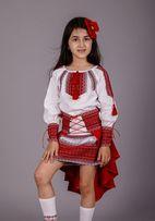 Костюм Украиночка Костюм украинский для девочки .Юбка-корсет +туника