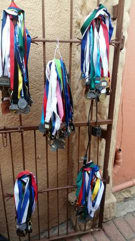 Various Cycling Medals