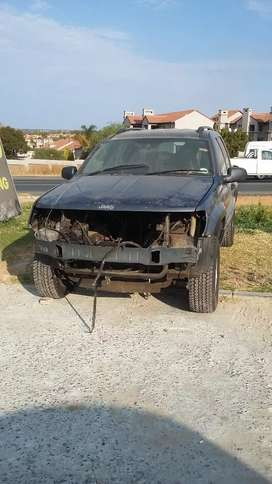 Jeep Grand Cherokee no engine or gearbox