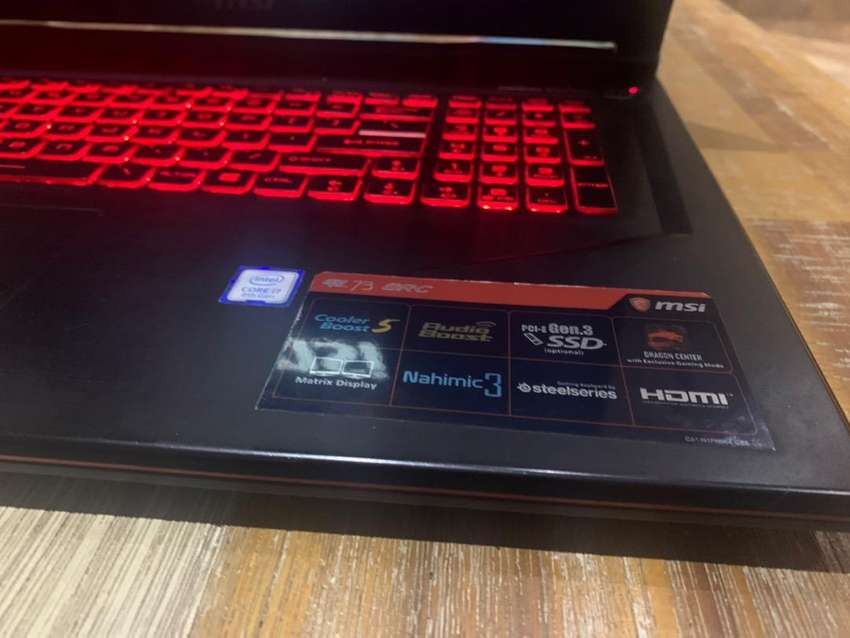 MSI GL73 17inch Gaming Laptop for sale/swap 0