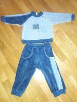 Спортивный велюровый костюм next Бемби 80-86р.