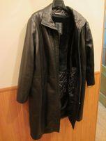 Продам новый стильный женский кожаный плащ
