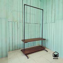 №8 Вешалка loft мебель лофт стойка для одежды торговое из труб