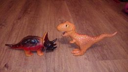 Динозавры из твердой резины