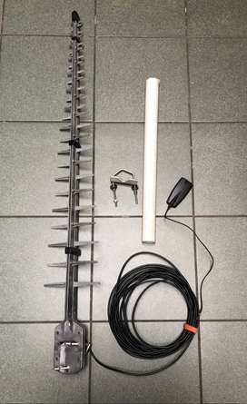 Cellphone GSM booster antenna with 10 meters of cable