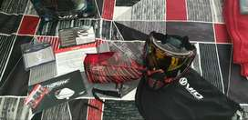 Virtue VIO Contour Paintball Mask + Spire 260(Spring Ramp) Fire