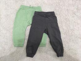 Spodnie baby h&m 9-12 i 12-18