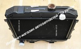 Радиатор охлаждения УАЗ 452,469,3151, Патриот 3160,Симбир. Медный