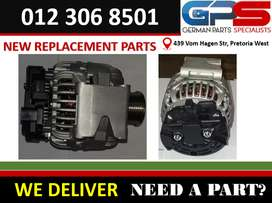 MERCEDES BENZ W203 M271 NEW REPLACEMENT ALTERNATOR 120 AMP FOR SALE.