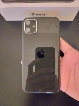 iPhone 11 64GB (1.5 months old) + new Body Glove charging case