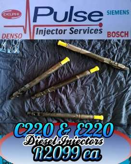 C2 20 injectors and E2 20 injectors available