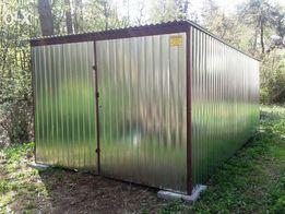 Garaż Blaszany Konstrukcje Stalowe Garaże Blaszane Blaszaki Wiaty Boks