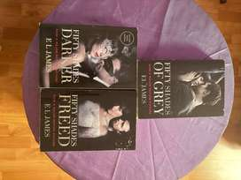Fifty Shades of Grey book Set