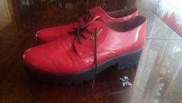 Женские ботинки, туфли. Кожа лак