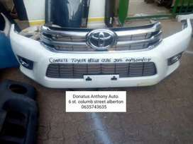 Complete Toyota hilux gd6 front bumper