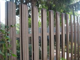 Металлический штакетный забор/штакет (евроштакетник)
