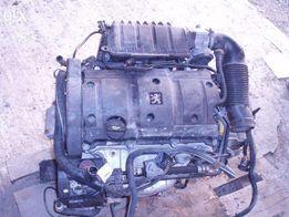 Мотор Peugeot 206 CC+коробка передач в зборі