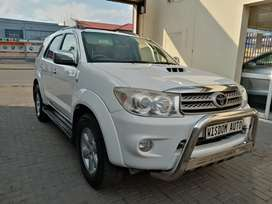 2010 Toyota Fortuner 3.0L d4d in great condition