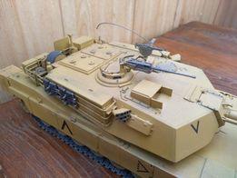 Масштабная модель 1:35 танка Абрамс