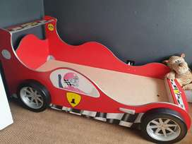 Kids Car Bed with Cupboard