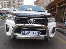 Pre Own 2017 Toyota HILUX 2.4 GD-6 Single Cab.