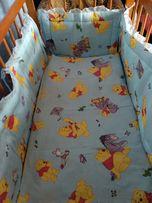 Дитяча постіль в ліжечко для хлопчика