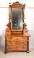 antyczna komoda z lustrem przełom XVIII i XIXw
