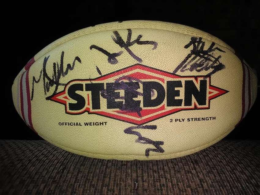 Signed Rugby Ball 0