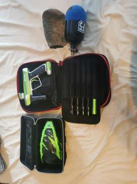 Paintball gun and other's price is negotiable