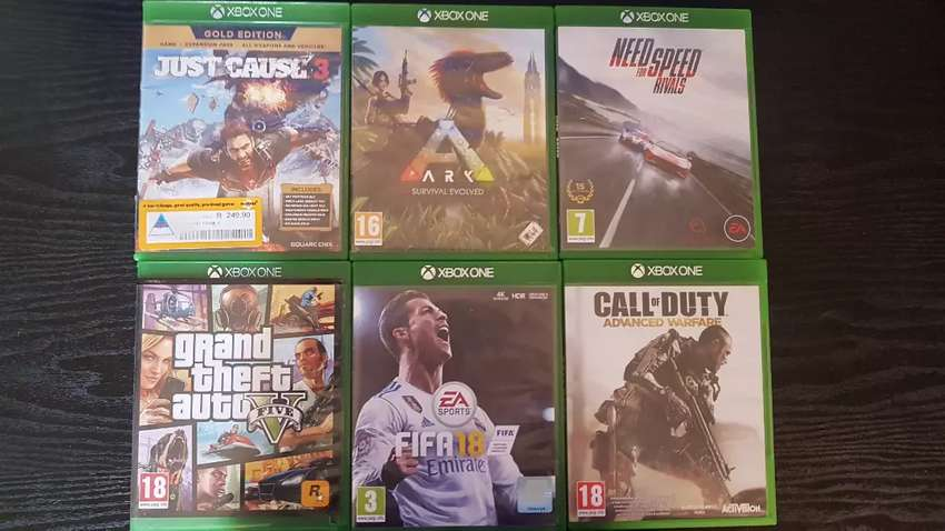 Xbox one games 4 sale 0