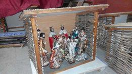 Різдвяна Шопка Вертеп з фігурками з полістоуну